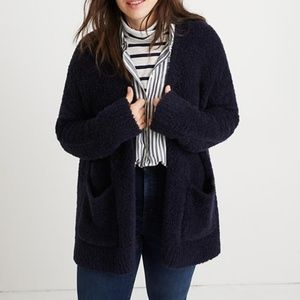 NWT Madewell Plus Teddy Cardigan Sweater